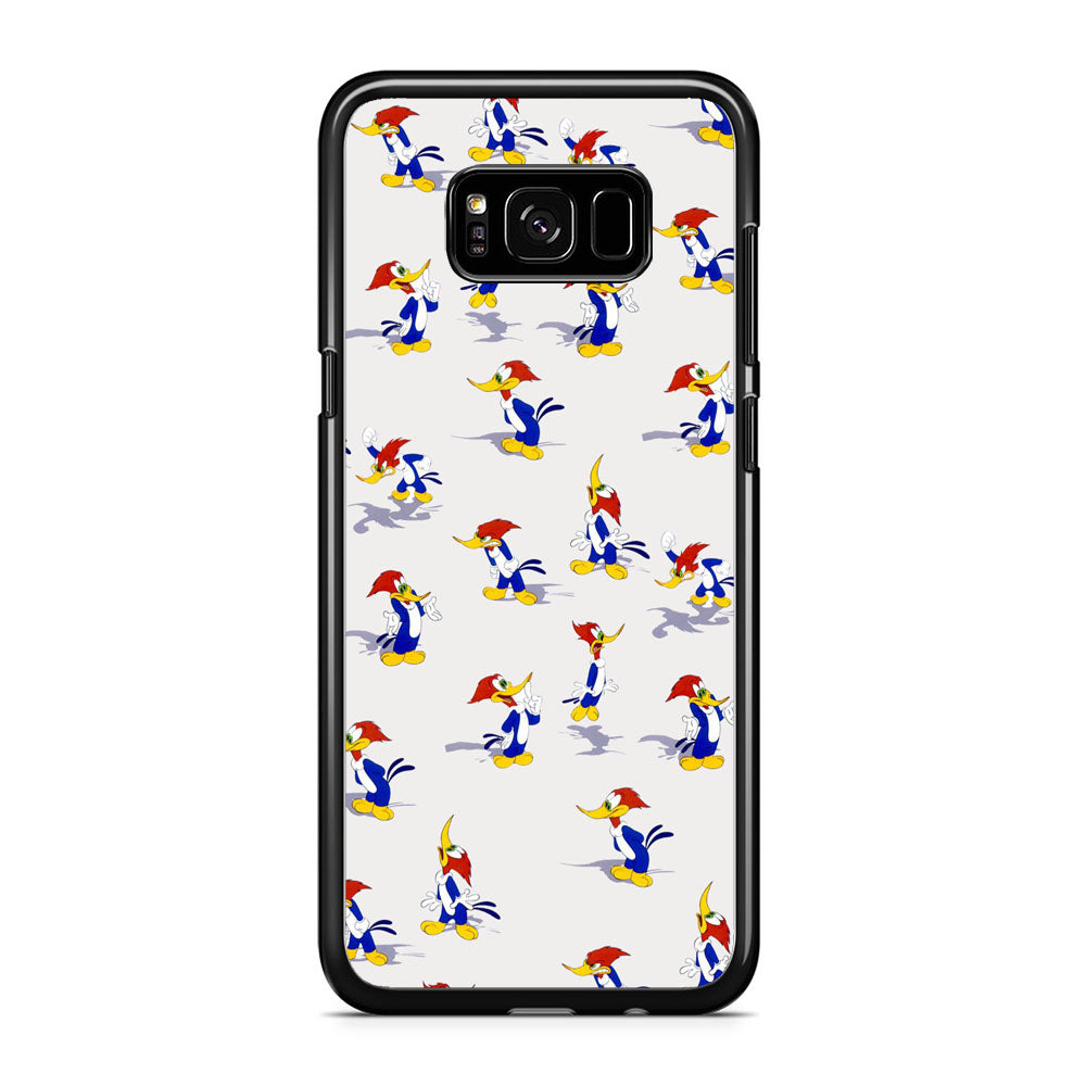Woody Woodpecker Sticker Character Samsung Galaxy S8 Plus Case