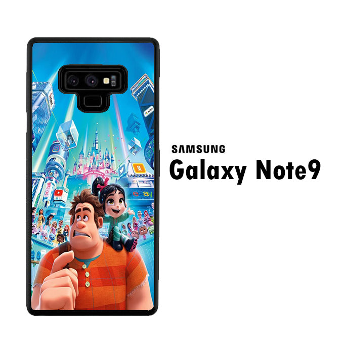 Wreck It Ralph And Vanellope Disney Samsung Galaxy Note 9 Case