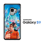 Wreck It Ralph And Vanellope Disney Samsung Galaxy S9 Case