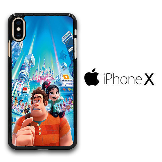 Wreck It Ralph And Vanellope Disney iPhone X Case