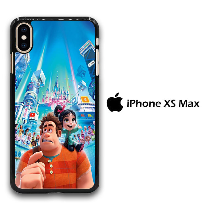 Wreck It Ralph And Vanellope Disney iPhone Xs Max Case