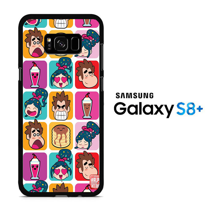 Wreck It Ralph Wallpaper Samsung Galaxy S8 Plus Case