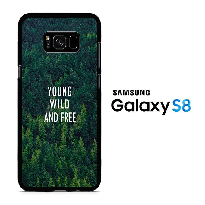 Young Wild Samsung Galaxy S8 Case