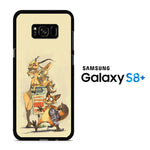 Zootopia Nick And Gazelle Samsung Galaxy S8 Plus Case