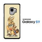 Zootopia Nick And Gazelle Samsung Galaxy S9 Case