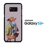 Zootopia Nick Love Hug Pose Samsung Galaxy S8 Plus Case