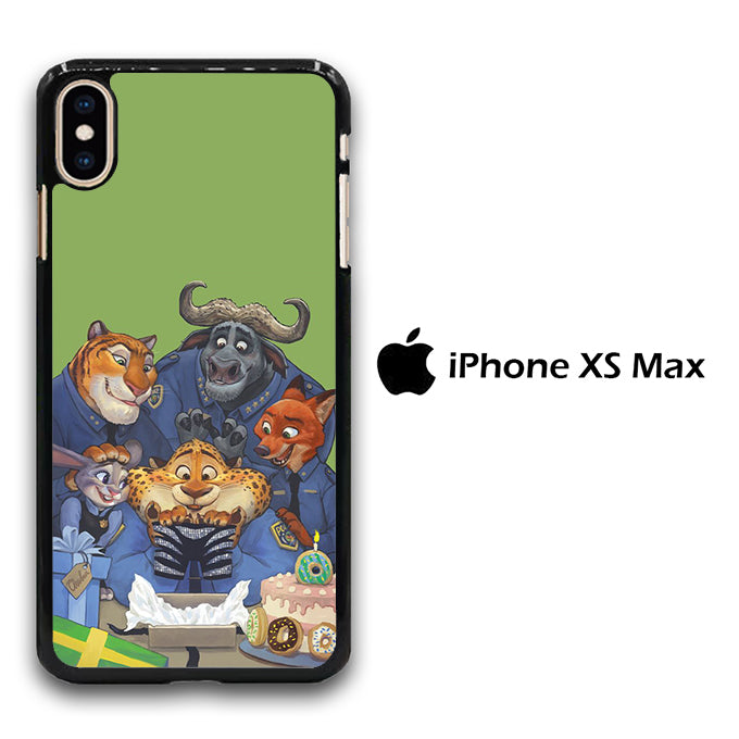 Zootopia Police iPhone Xs Max Case