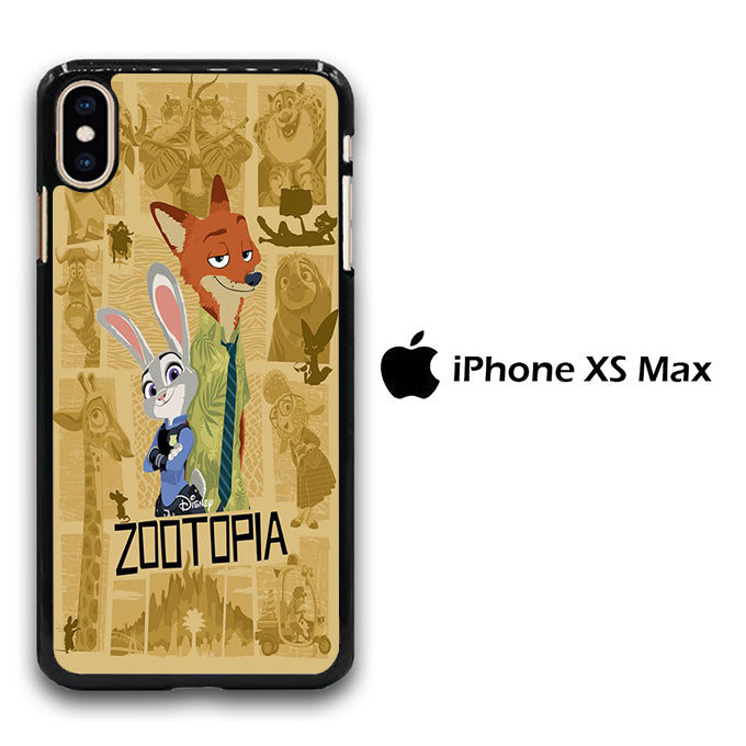Zootopia Wallpaper Nick iPhone Xs Max Case