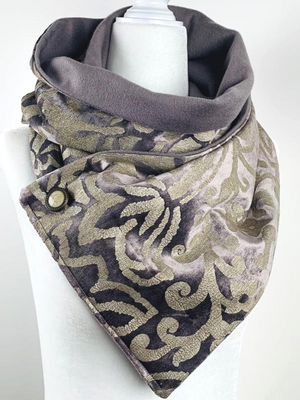 Wanda Cashmere Velvet Luxury Scarf- Limited Edition