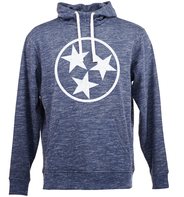 Navy Sweatshirt with White TriStar