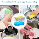 2 in 1 Dish Washing Soap Dispenser