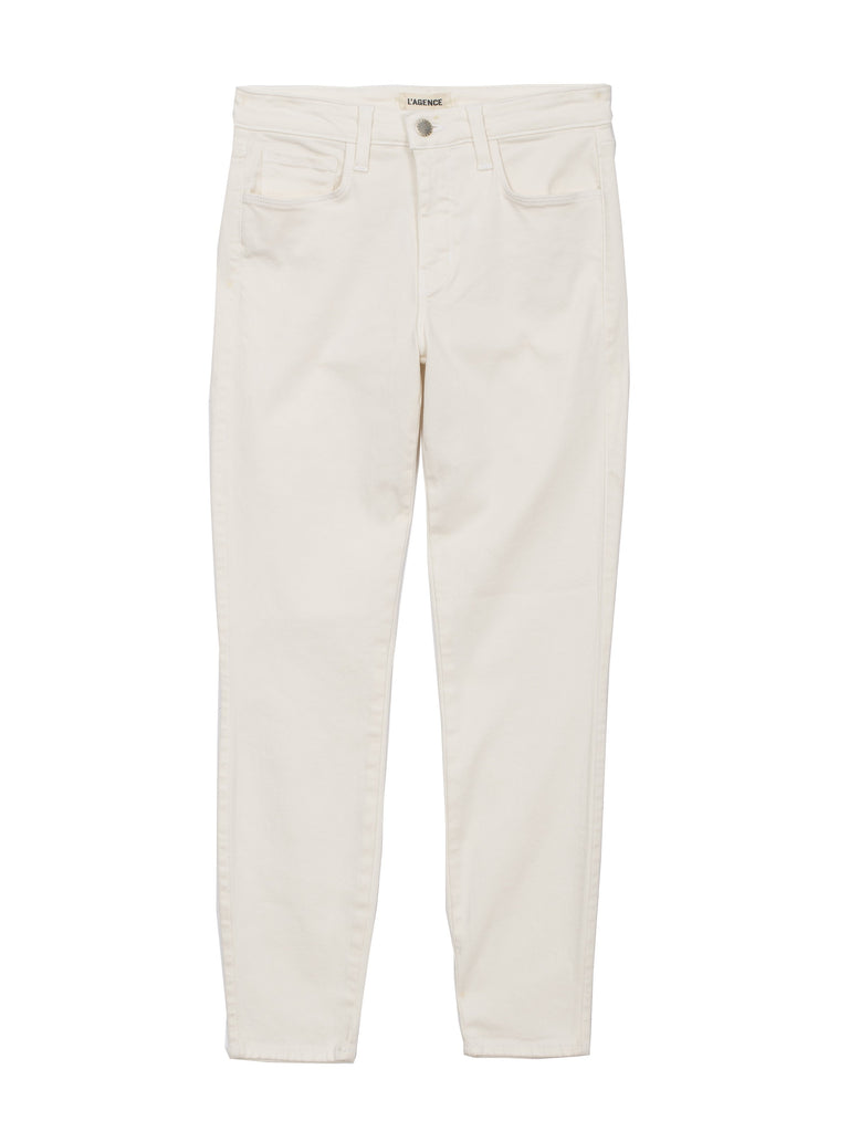 L'AGENCE Margot High Rise Skinny, Vintage White