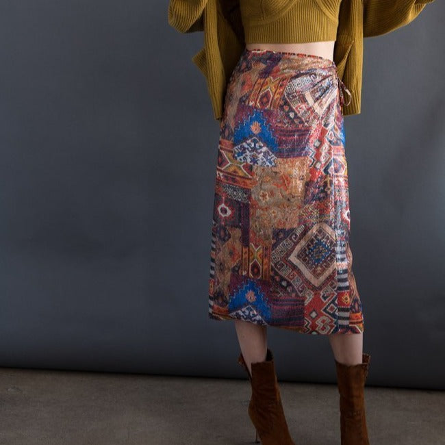 Le Superbe Stevie Wrap Skirt
