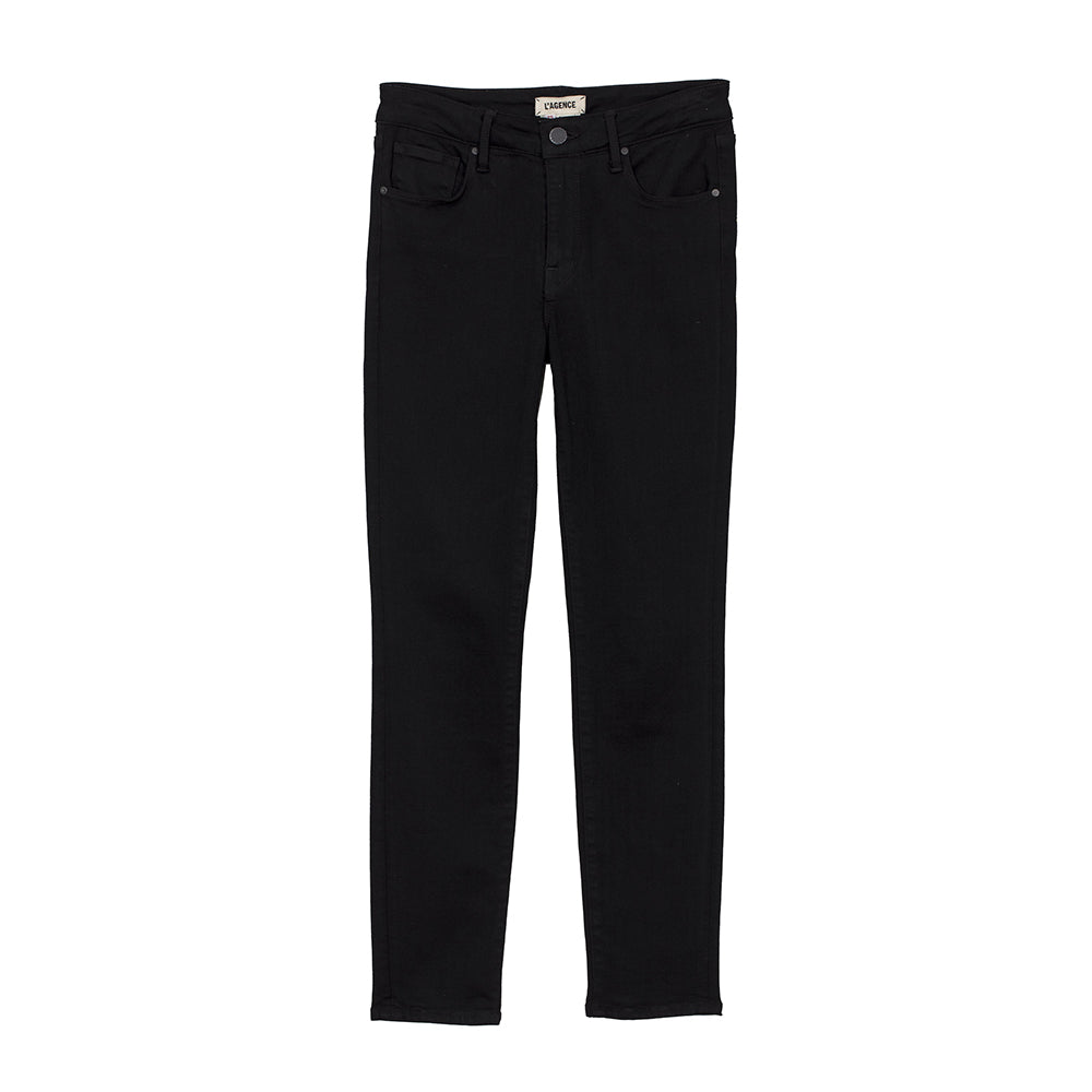 L'AGENCE Margot High Rise Skinny, Noir