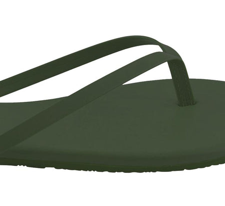 TKEES Solids Sandal, No.10 Olive
