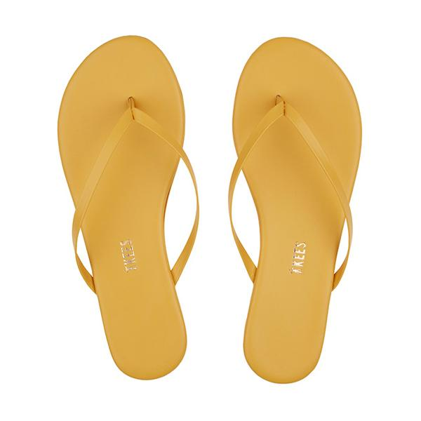TKEES Solids Sandal, No.28 Mustard