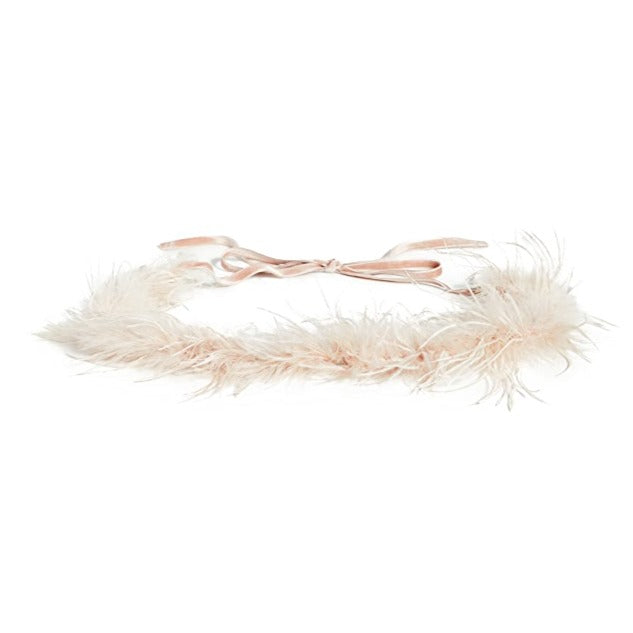 Loeffler Randall Feather Belt, Blush