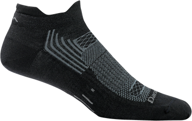 Darn Tough Mens 1001 Merino Wool No Show Sports Socks