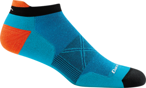 Darn Tough Mens 1024 Merino Wool No Show Running Socks
