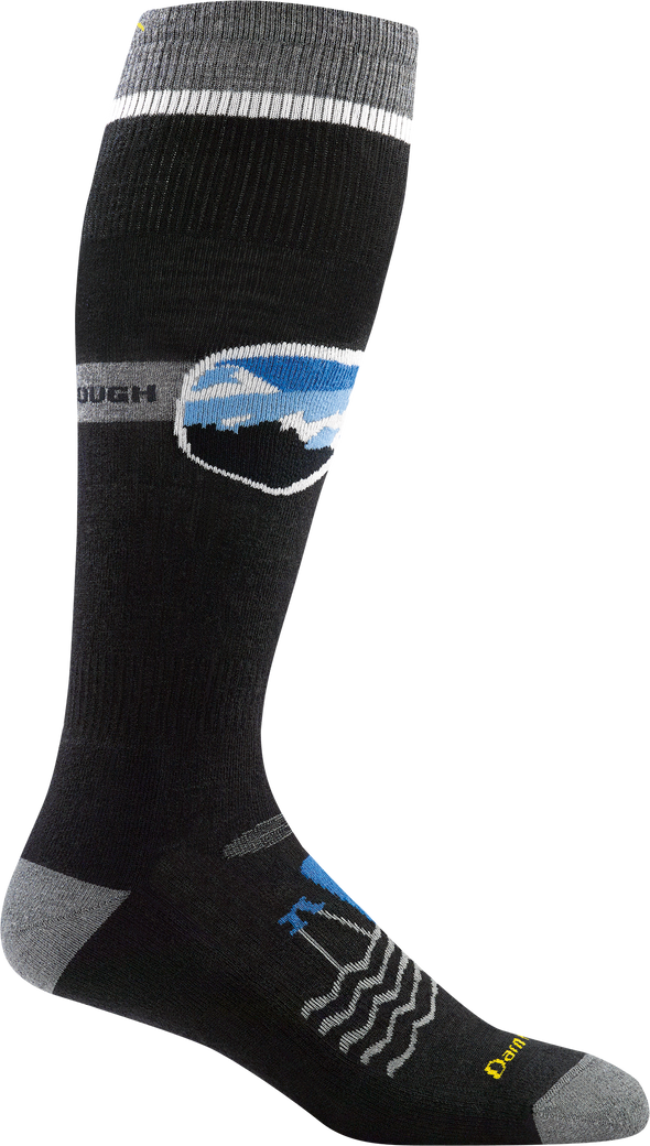 Darn Tough Mens 1888 Merino Wool Knee High Ski/Snowboarding Socks
