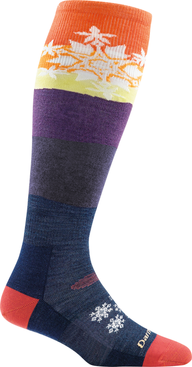 Darn Tough Womens 1893 Merino Wool Knee High Ski/Snowboarding Socks