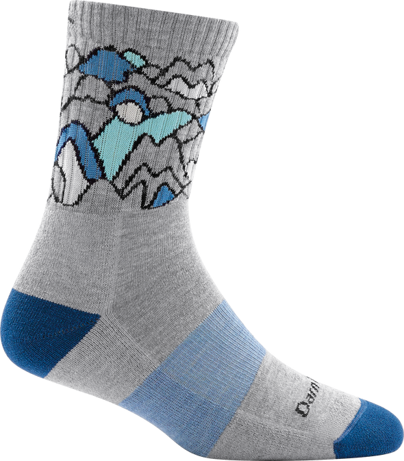 Darn Tough Womens 1957 Coolmax 3/4 Crew Hiking Socks