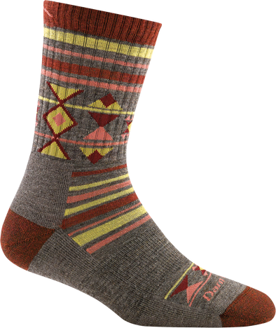 Darn Tough Womens 1962 Merino Wool 3/4 Crew Hiking Socks