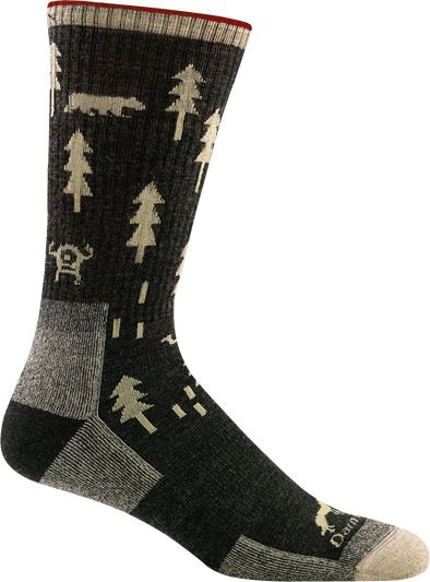 Darn Tough Mens 1964 Merino Wool Crew Hiking Socks
