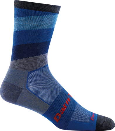 Darn Tough Mens 7004 Merino Wool Crew Biking Socks