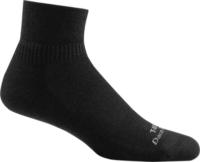Darn Tough Mens T4093 Merino Wool 1/4 Crew Tactical Socks