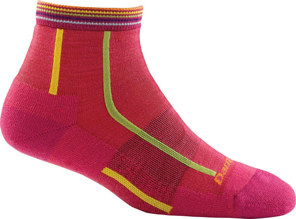 Darn Tough Womens 1749 Merino Wool 1/4 Crew Sports Socks