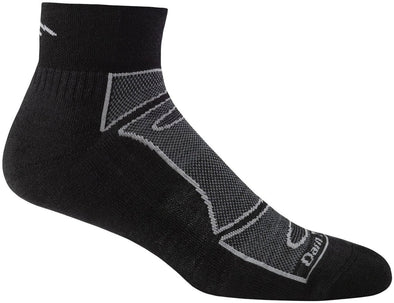 Darn Tough Mens 1723 Merino Wool 1/4 Crew Sports Socks