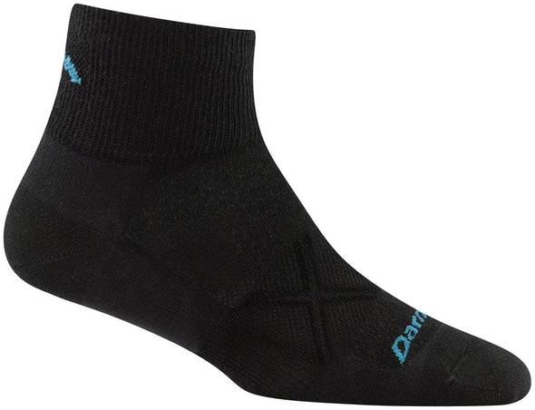 Darn Tough Womens 1760 Merino Wool 1/4 Crew Running Socks