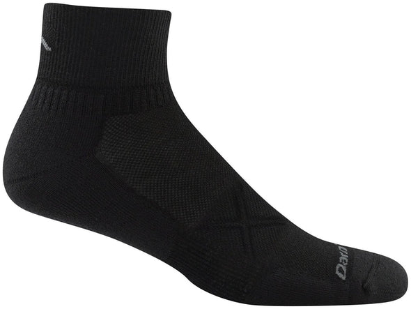 Darn Tough Mens 1773 Coolmax 1/4 Crew Running Socks Special Pricing! 33% Off!