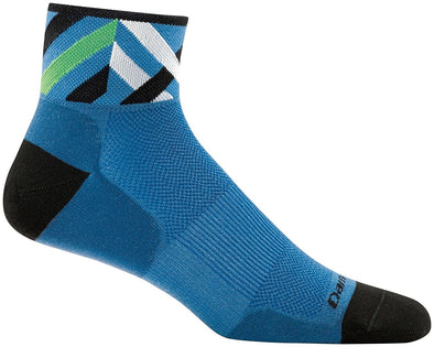 Darn Tough Mens 1788 Merino Wool 1/4 Crew Biking Socks