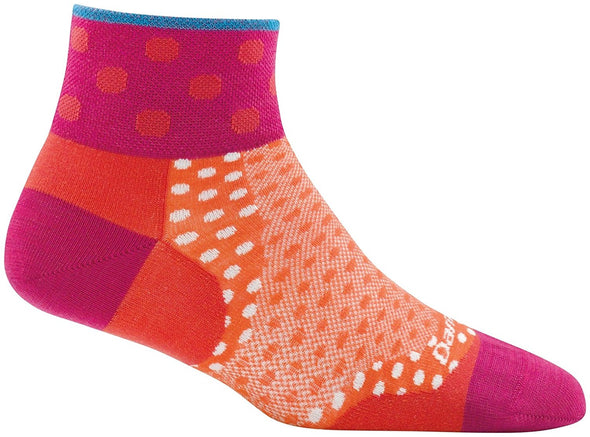 Darn Tough Womens 1784 Merino Wool 1/4 Crew Biking Socks
