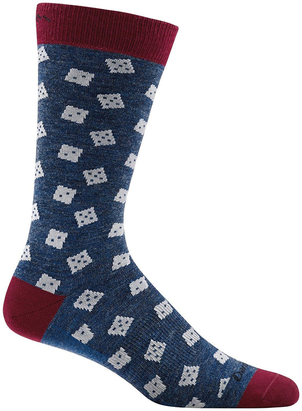 Darn Tough Mens 1672 Merino Wool Crew Lifestyle Socks