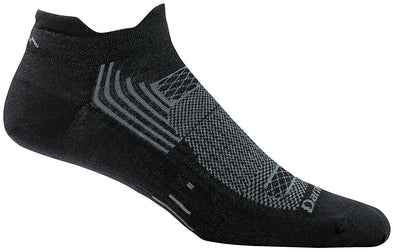 Darn Tough Mens 1002 Merino Wool No Show Sports Socks