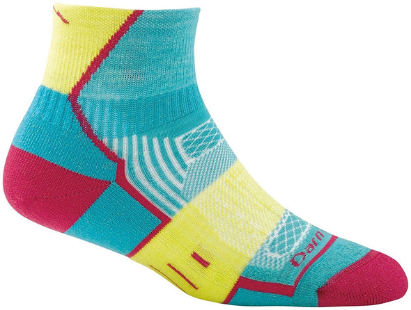 Darn Tough Womens 1798 Merino Wool 1/4 Crew Sports Socks