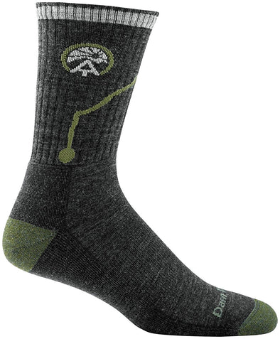 Darn Tough Mens 1956 Merino Wool 3/4 Crew Hiking Socks