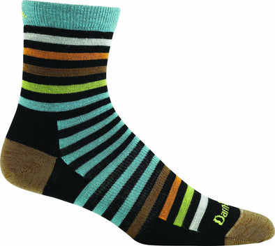 Darn Tough Womens 1600 Merino Wool 1/4 Crew Lifestyle Socks