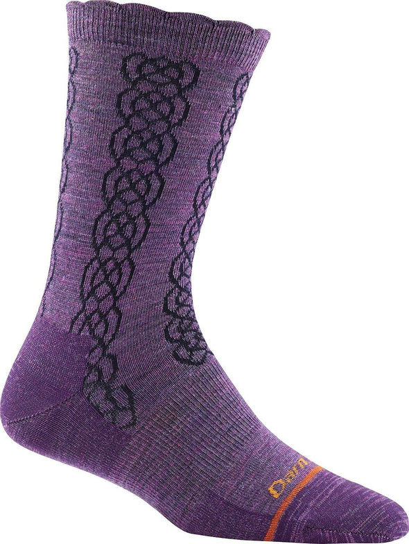 Darn Tough Womens 1625 Merino Wool Crew Lifestyle Socks