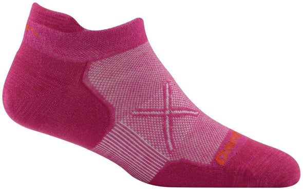 Darn Tough Womens 1762 Merino Wool No Show Running Socks
