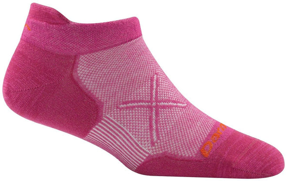 Darn Tough Womens 1765 Coolmax No Show Running Socks