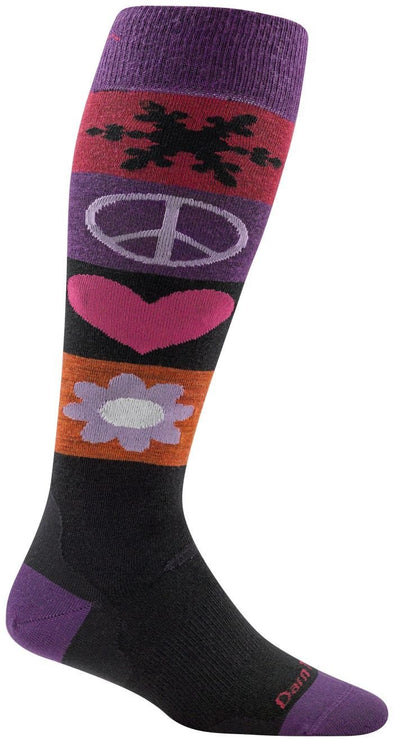 Darn Tough Womens 1823 Merino Wool Knee High Ski/Snowboarding Socks Special Pricing! 50% Off!