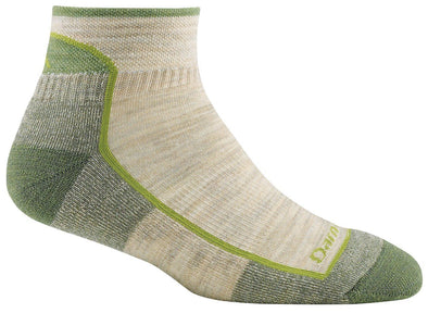 Darn Tough Womens 1901 Merino Wool 1/4 Crew Hiking Socks Special Pricing! 33% Off!