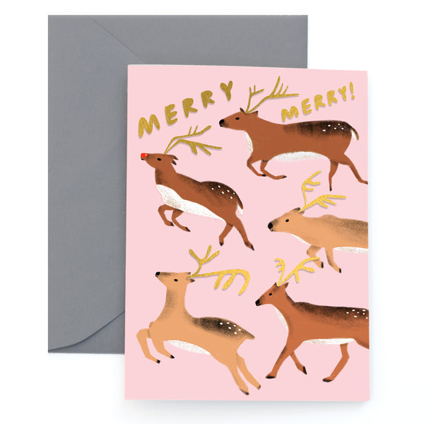REINDEER GAMES - Holiday Card