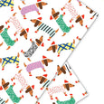 DACHSHUNDS - Gift Wrap