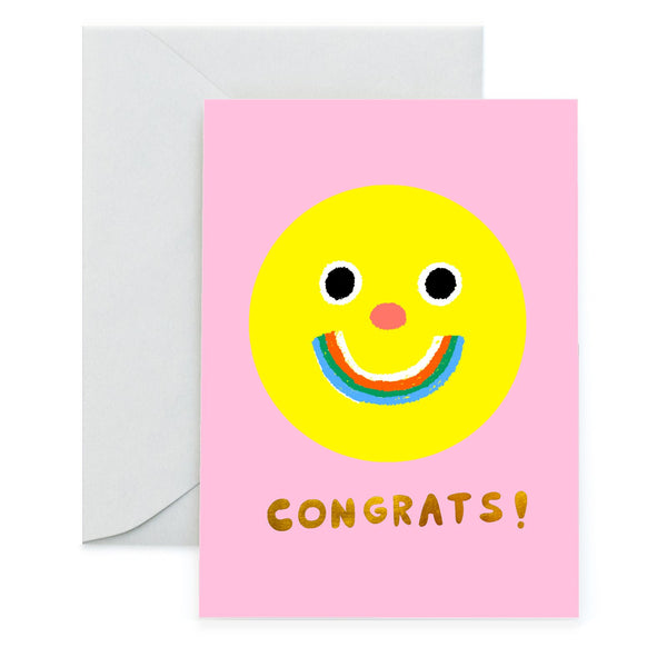 HAPPY CONGRATS - Special Occasion Card