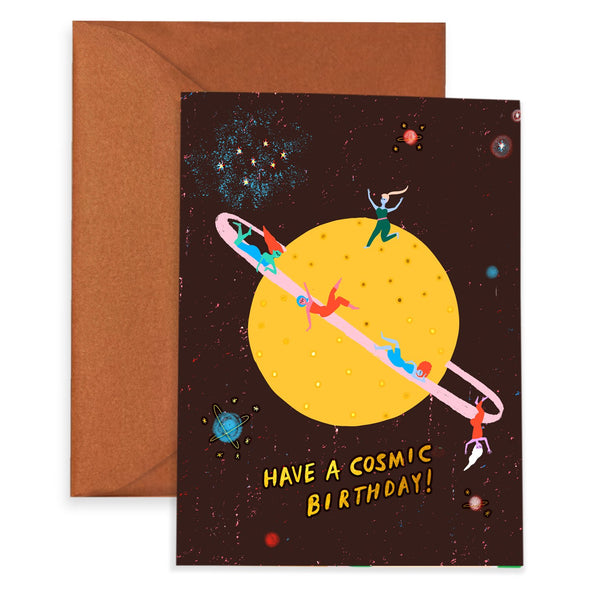 THAT COSMIC FEELING - Birthday Card
